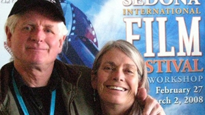 Filmmaker/Authors Andrew Cameron Bailey and Connie Baxter Marlow at Sedona International Film Festival.